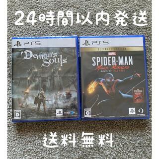 PlayStation - PS5ソフト デモンズソウル スパイダーマン