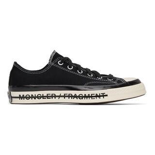 モンクレール(MONCLER)のMONCLER FRAGMENT CONVERSE 28 BLACK CT(スニーカー)