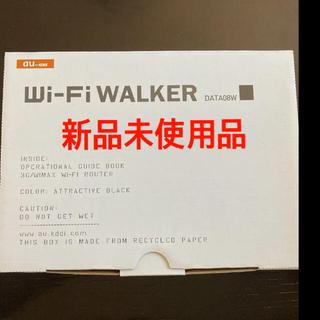 エーユー(au)のau Wi-Fi WALKER DATA08W 新品未使用(その他)