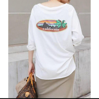 ドゥーズィエムクラス(DEUXIEME CLASSE)のDeuxieme Classe ラグランバックプリントTシャツ(Tシャツ(長袖/七分))