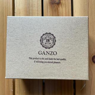 ガンゾ(GANZO)のganzo 名刺入れ 外箱&布袋(名刺入れ/定期入れ)