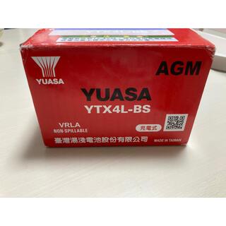 台湾 YUASA ユアサ YTX4L-BS(パーツ)