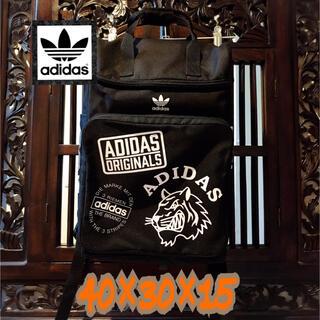 adidas - アディダス オリジナルス 希少 海外限定 ビッグロゴ リュック バッグパック