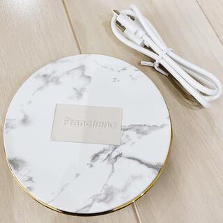 フランフラン(Francfranc)のFrancfranc フランフラン 大理石風 ペティート ワイヤレス 充電器 (バッテリー/充電器)