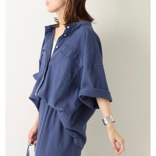 FRAMeWORK - 【新品】FRAMeWORK 楊柳製品染めシャツ