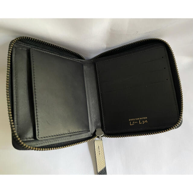 DRIES VAN NOTEN(ドリスヴァンノッテン)の未使用 Dries Van Noten × Len Lye ラウンドジップ 財布 メンズのファッション小物(折り財布)の商品写真