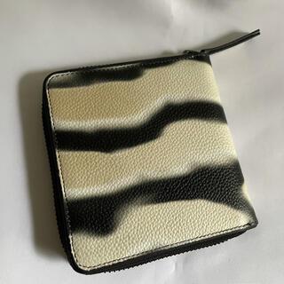 ドリスヴァンノッテン(DRIES VAN NOTEN)の未使用 Dries Van Noten × Len Lye ラウンドジップ 財布(折り財布)