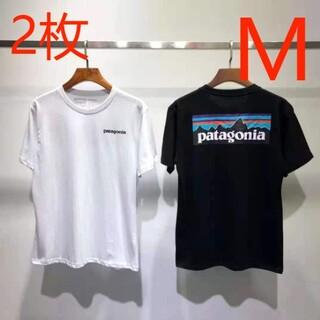 patagonia - 2枚 Patagonia パタゴニアの半袖Tシャツです  M