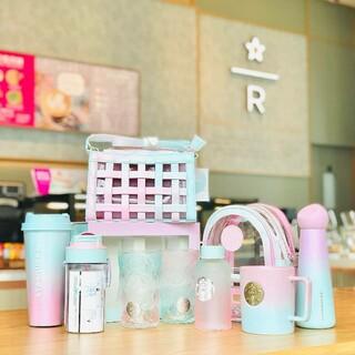 スターバックスコーヒー(Starbucks Coffee)の確認ページ スターバックス中国夏限定 7.27 グランデーション グラス(タンブラー)