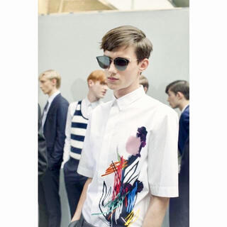 DIOR HOMME - Dior homme 15ss フラワーペイント