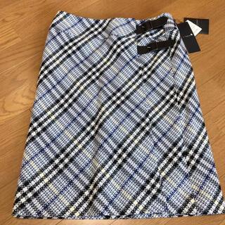バーバリー(BURBERRY)のタグ付新品 バーバリースカート 44 XL LL(ひざ丈スカート)