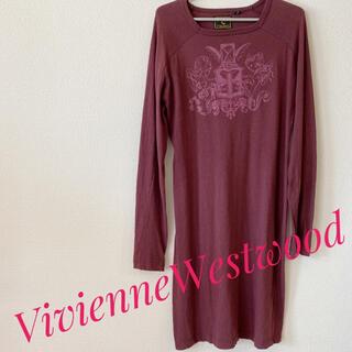 ヴィヴィアンウエストウッド(Vivienne Westwood)のVivienneWestwood☆レア!!☆初期・アングロマニア☆ワンピース(ひざ丈ワンピース)
