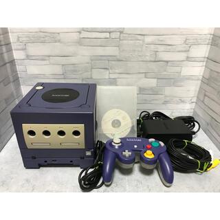 ニンテンドーゲームキューブ(ニンテンドーゲームキューブ)のゲームキューブ ゲームボーイプレイヤー スタートアップディスク付き!セット (家庭用ゲーム機本体)