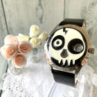 マークバイマークジェイコブス(MARC BY MARC JACOBS)の【美品】MARC BY MARC JACOBS 腕時計 ミスマークスカル(腕時計(アナログ))