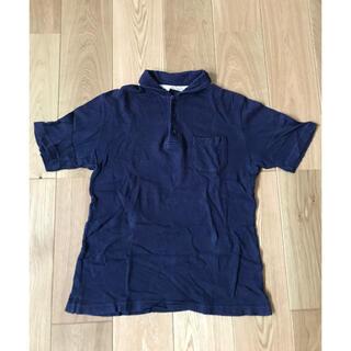 グローバルワーク(GLOBAL WORK)のglobal work ネイビーポロシャツ パイル(ポロシャツ)