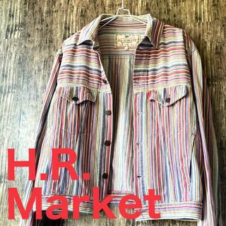 HOLLYWOOD RANCH MARKET - 【H.R.MARKET】OUTER WEAR カラフルジャケット サイズ3