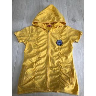 ジェニィ(JENNI)の【美品】ジェニィ JENNI パーカー 半袖 羽織り 140cm おすすめ(ジャケット/上着)