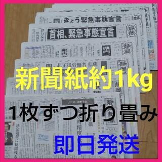 新聞紙まとめ売り約1kg(その他)