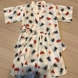 クレードスコープ(kladskap)の昆虫 甚平(甚平/浴衣)
