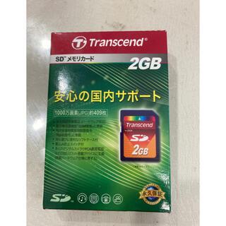 トランセンド(Transcend)のR4/9専用 TRANSCEND SDカード2GB 2個(その他)