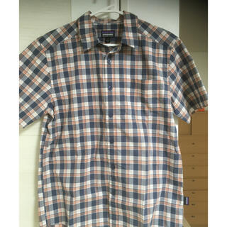 値段交渉可能新品未使用パタゴニアチェックシャツサイズS