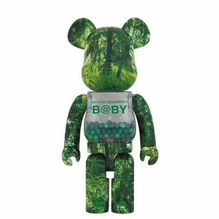 メディコムトイ(MEDICOM TOY)のBE@RBRICK FOREST GREEN Ver. 1000%(キャラクターグッズ)