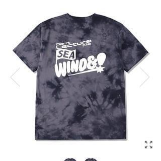 シー(SEA)のWDS windandsea 新作 タイダイ ブラック Sサイズ(Tシャツ/カットソー(半袖/袖なし))
