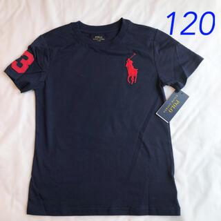 POLO RALPH LAUREN - ラルフローレン ビッグポニー半袖Tシャツ ネイビー 6/120