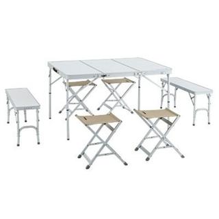 LOGOS - ALC-P 3FD BENCH TABLE 8 折り畳み収納式