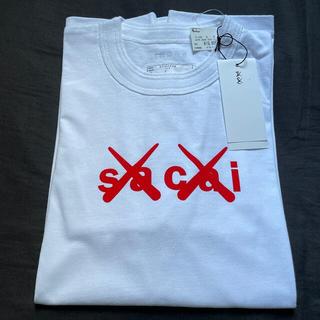 sacai - sacai x KAWS Flock Print T-Shirt サカイ カウズ
