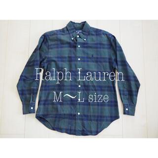 ラルフローレン(Ralph Lauren)のラルフローレンスポーツ タータンチェック シャツ 90's ヴィンテージ(シャツ/ブラウス(長袖/七分))