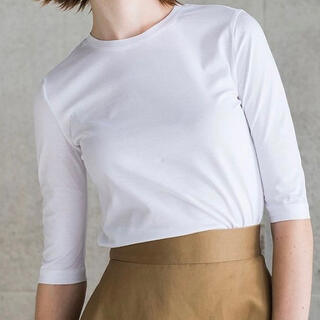 TSURU by Mariko Oikawa - SHE Tokyo Sabrina サブリナ ホワイト 0サイズ
