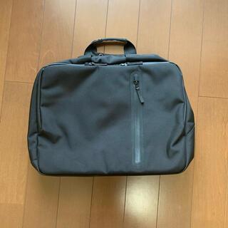 ユニクロ(UNIQLO)の美品☆ユニクロ ビジネスバッグ 黒(ビジネスバッグ)