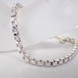 Tiffany & Co. - ティファニー SV925 ベネチアン ブレスレット[g496-3]