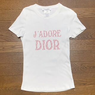 ディオール(Dior)のDior ディオール Tシャツ 白(Tシャツ(半袖/袖なし))