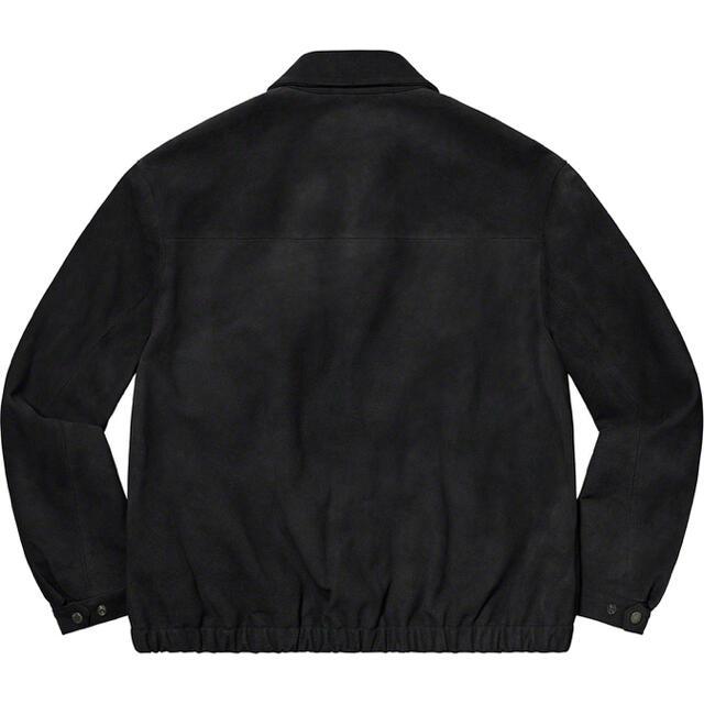 Supreme(シュプリーム)のSUPREME 21SS Suede Harrington Jacket M メンズのジャケット/アウター(レザージャケット)の商品写真