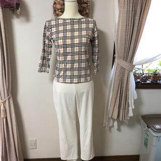 バーバリー(BURBERRY)のBURBERRY7分袖77Tシャツ (Tシャツ(長袖/七分))