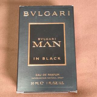 ブルガリ(BVLGARI)のブルガリ マンインブラック EDP 30ml(香水(男性用))