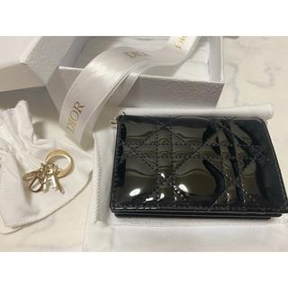 クリスチャンディオール(Christian Dior)の最終値下げ Lady Dior カードホルダー 国内在庫なし(名刺入れ/定期入れ)