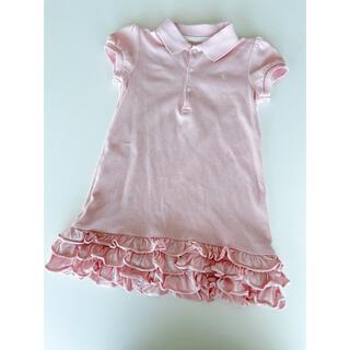 POLO RALPH LAUREN - ラルフローレン ワンピース ポロシャツ ピンク ポロ 90