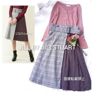 JILL by JILLSTUART - 美品 ジルバイジルスチュアート チェックバリエーションスカート