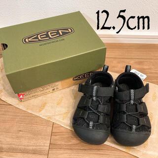 KEEN - 【新品未使用】KEEN  水陸両用サンダル 12.5cm   ブラック