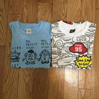 Disney - ディズニー Tシャツ 130cm 2枚セット