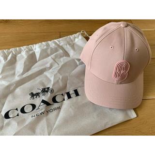 コーチ(COACH)の【新品】【未使用】COACH ピンクキャップ(キャップ)