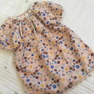 ANNA SUI mini - 美品 110 アナスイミニ   ワンピース 花柄 アナスイ