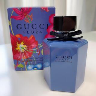 グッチ(Gucci)のGUCCI フローラ ゴージャスガーデニア ラベンダー オードトワレ(香水(女性用))