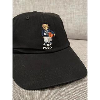 POLO RALPH LAUREN - ③【新品】ラルフローレン ポロベア キャップ 帽子 ブラック 黒 男女兼用