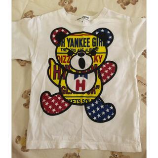 ジョーイヒステリック(JOEY HYSTERIC)のSサイズ ベア Tシャツ(Tシャツ/カットソー)