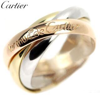 Cartier - カルティエ K18YG/WG/PG リング トリニティ 50号