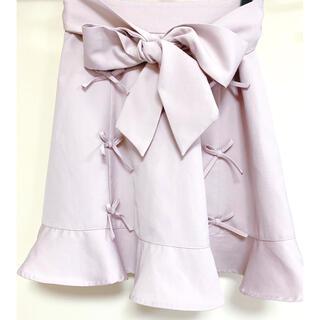 アンクルージュ(Ank Rouge)のアンクルージュフリルリボンスカート(ミニスカート)